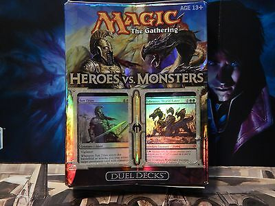 MTG DUEL DECK HEROES vs MONSTERS MAGIC THE GATHERING