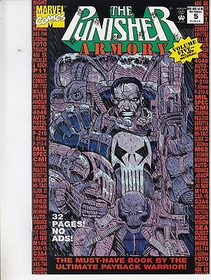 PUNISHER ARMORY #5 1993 MARVEL  by ELIOT BROWN  -DON DAILEY  32pgs...NM-