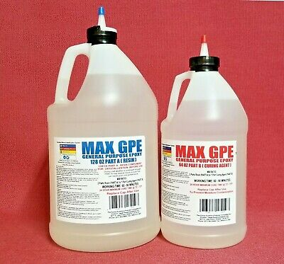 EPOXY RESIN GLUE 4 RV SKIN PANEL SIDING REPAIR W/ SYRINGE/HOSE FOAM SAFE 1.5 gal