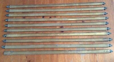 Brass Stair Rods - Antique - Reclamation - House Clearance