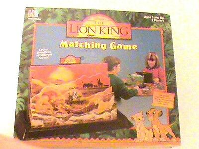 Rare Vintage 1994 Lion King Macthing Board Game Simba NEW FACTORY SEALED
