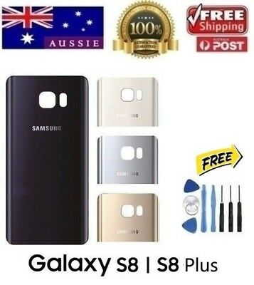 Samsung Galaxy S8 Back Rear Glass Housing Battery Cover Case + TOOLS