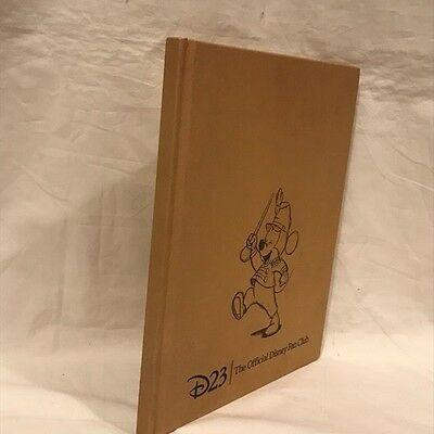 D23 The Official Disney Fan Club Journal - All Pages Blank in this Book - Unused