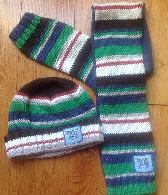 Young Boys Next Scarf & Hat Set Age 1-2 Years