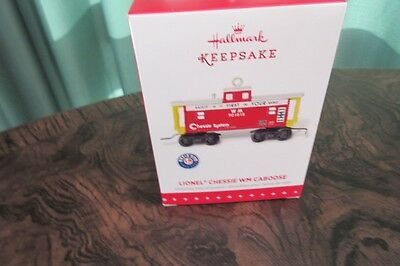 Hallmark Keepsake Ornament Lionel Chessie System WM Caboose 2015