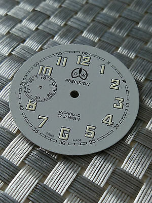 Ollech & Wajs Used Watch dial for Unitas 6497 Collectible must have