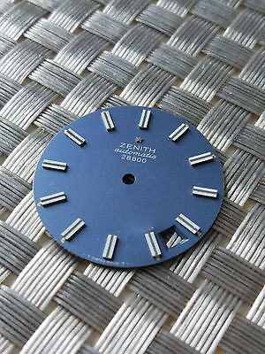 Zenith Used Watch blue dial Collectible must have