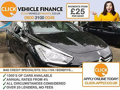 Citroen DS5 2.0TD 200 4X4 Hybrid4  BAD /GOOD CREDIT FINANCE AVAILABLE FR £25 P/W