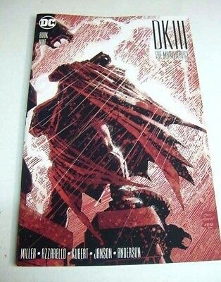 Dark Knight Iii 3 Master Race #9 Cover A Batman 1St Prt Kubert $3 Flat Rate Ship