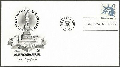 Us Fdc 1978 I Lift My Lamp Beside The Golden Door 16C Stamp First Day Of Issue