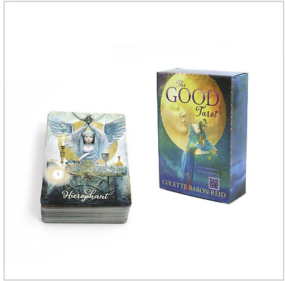 The Good Tarot 78 Fortune Telling Card Deck by Colette Baron-Reid