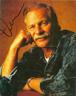 Vern Gosdin autographed hand signed 8 x 10 color photo country