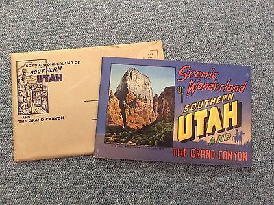 Vintage American Travel Ephemera Southern Utak and Grand Canyon History Rare