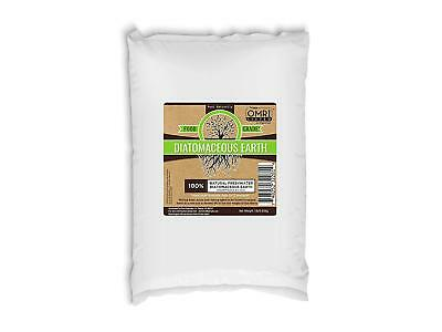 Diatomaceous Earth Bed Bug Flea Ant Cockroach Insect 100% Food Grade OMRI