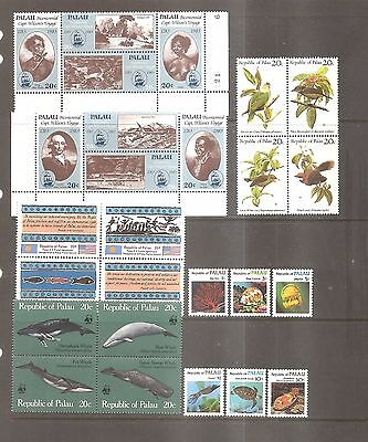 Mint Never Hinged Stamps - Palau.
