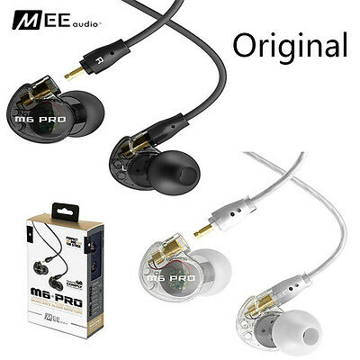 MEE Audio M6 PRO Noise-Isolating Musician's In-Ear Monitors w/ Detachable Cables