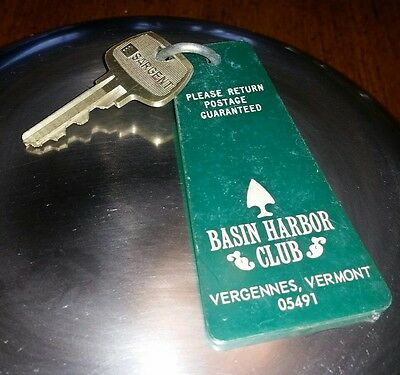 Basin Harbor Club Room Key And Fob Vergennes, Vt (Pleasant View)
