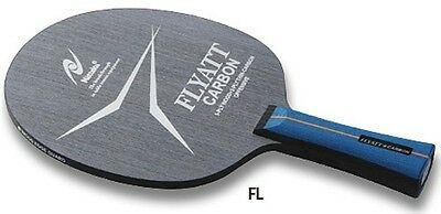 Nittaku Flyatt Carbon Table Tennis Blade ( Mid Speed )