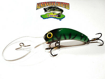 Australian Crafted Lures- 50mm slim invader GLENBAWN col;42, 30ft a.c.lures