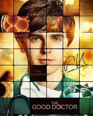 the Good Doctor Freddie Highmore Dr. Shaun Murphy Signed Photo Autograph Reprint