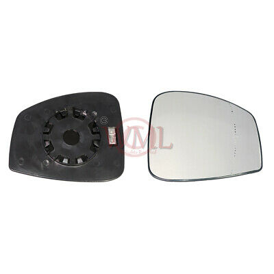 Renault Laguna 2008->2015 Wing Mirror Glass Aspheric,Heated & Base, Right Side