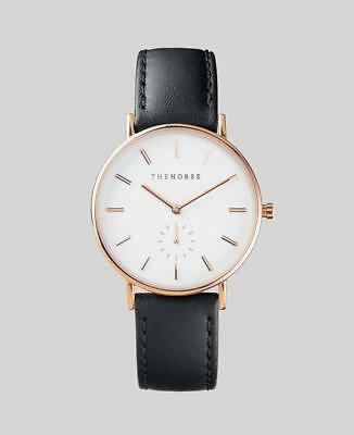 The Horse Classic Watch- Rose Gold/White/Black