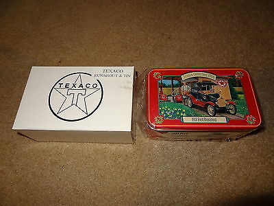 Texaco collectors club 1918 18 Ford model T runabout with box and tin 1/43 scale