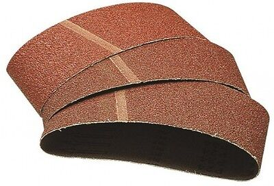 Wolfcraft 1719000 40 x 303mm Sanding Belts with 120-Grit
