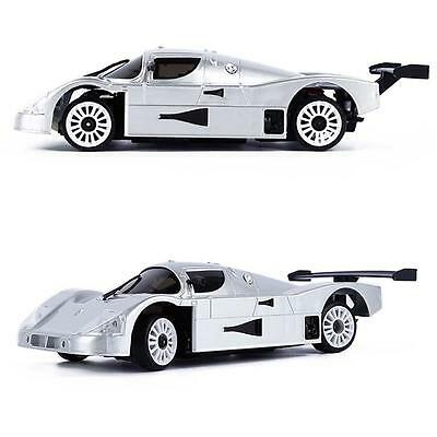 Drift Toy Gift New Two Wheel Drive 2WD Enlectronic Remote Control Car Silver  Gp