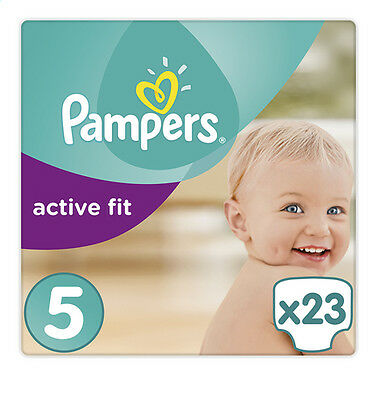 Pampers Active Fit S5 - 4x 23 Couches