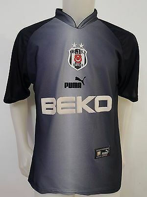 Maglia Shirt Calcio Besiktas Beko Puma Tg.s Trikot Vintage Football Turkey S616