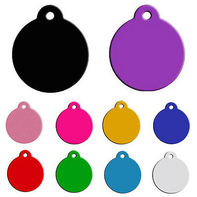 Personalised Engrave Pet ID Dog Tag Custom Cat collar Names Owner Address Phone