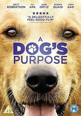 A Dogs Purpose  with Britt Robertson New (DVD  2017)