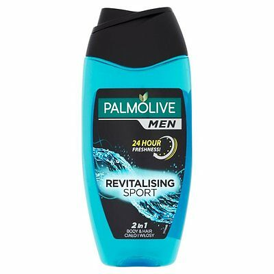 Palmolive Men Revitalising Sport 2 in 1 corps & Cheveux Shampoing Douche 250 ml