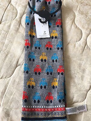 Marks & Spencer - BOY - GREY MARL - Scarf - Age 3-6 yrs  BNWT