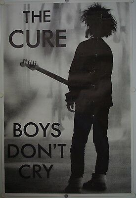 Affiche THE CURE Boys Don't Cry