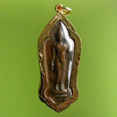 TOP! REAL COIN 2500th ANNIVERSARY OLD THAI AMULET RARE !!!
