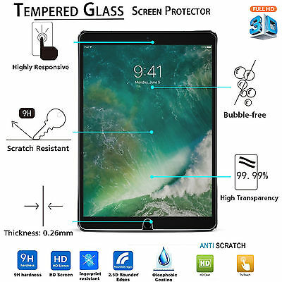 New Tempered Glass Screen Protector for Apple iPad Pro 9.7 / iPad 5 Air / iPad 6