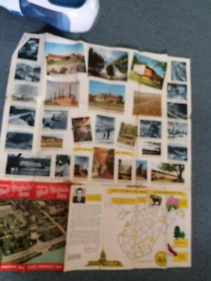 Vintage Ephemera West Virginia State Highway Map 1959 History Historic