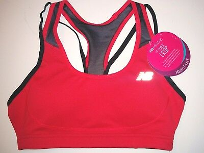 5276b8b9fb523 New Balance WB53002 Womens The Tonic Crop Bra Size XS color Cerise Pink NWT
