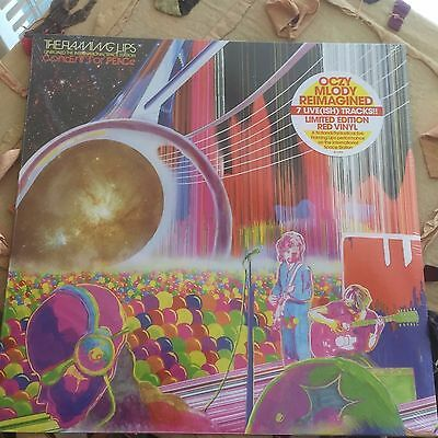 The Flaming Lips Onboard The International Space Station.RSD 2017.2700 Red vinyl