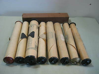 Lot 8 Vintage Piano Rolls, Story of Christmas, American Patrol, Kiss Me Again