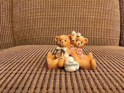 Cherished Teddies Anniversary You Grow More Dear With Each Passing Year 1997 MIB