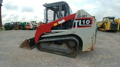 2012 Takeuchi TL10 TL 10 2 Speed Tracksteer Track Skid Steer