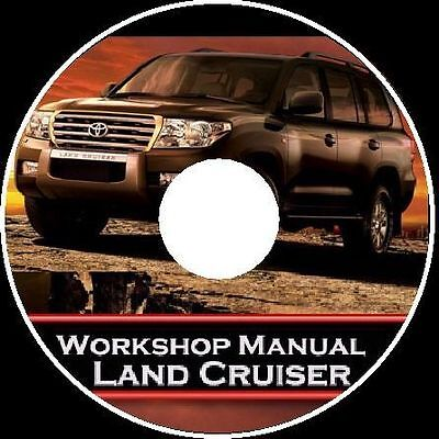 TOYOTA Landcruiser 200 Series VDJ-200 V8 Workshop Toolbox Repair Manual CD