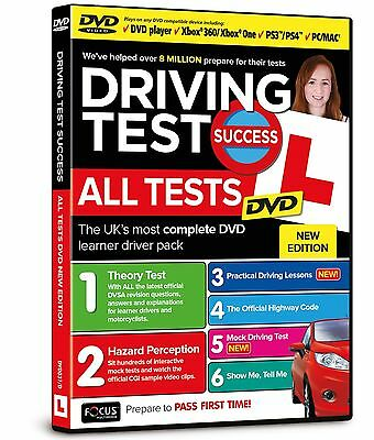 Driving Test Success All Tests DVD - 2017 Edition with The Official Highway Code