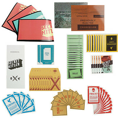 Bithday Board Game Funny Cards of Secret Hitler For Makers Party Family Toy AU