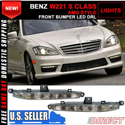 S63 S65 AMG Style Front Bumper With PDC With DRL for Mercedes Benz