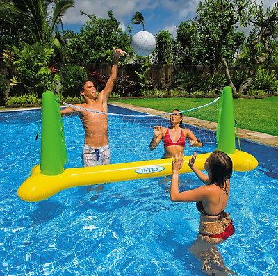 """POOL VOLLEYBALL GAME INFLATABLE INTEX THE WET SET #56508EP 94x25x36"""" NEW IN BOX"""