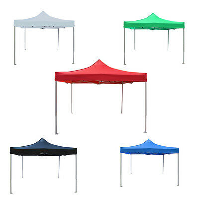 3x3m Gazebo Outdoor Canopy Pop Up Tent Folding Marquee Party Wedding Camping